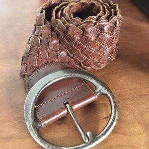 Banana Republic woven brown belt